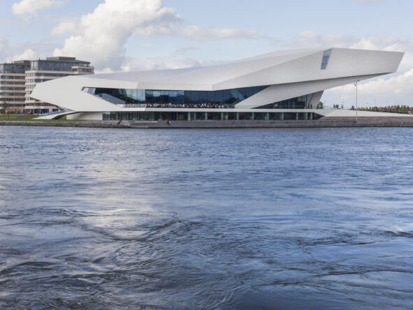 A view of Eye Filmmuseum