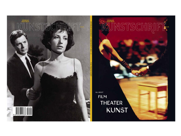 Kunstschrift cover All About Theatre About Film