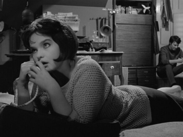 still uit A Movie with a Charming Girl (Lucian Bratu, RO 1967)