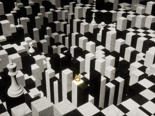 still from Alice, The Virtual Reality Play