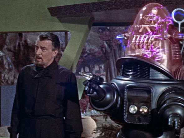 still from Forbidden Planet (Fred M Wilcox, US 1956)