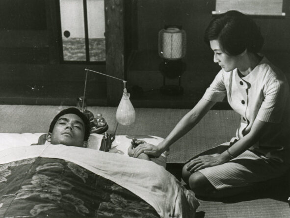 still from Scattered Clouds (Mikio Naruse, JP 1967)