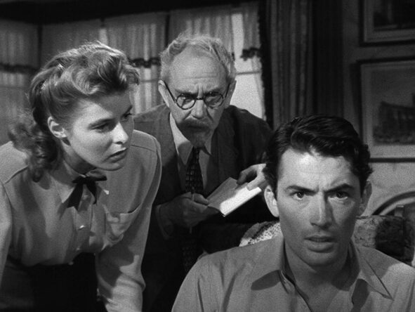 still from Spellbound (Alfred Hitchcock, US 1945)