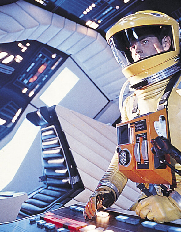 still from 2001: A Space Odyssey (Stanley Kubrick, GB 1968)