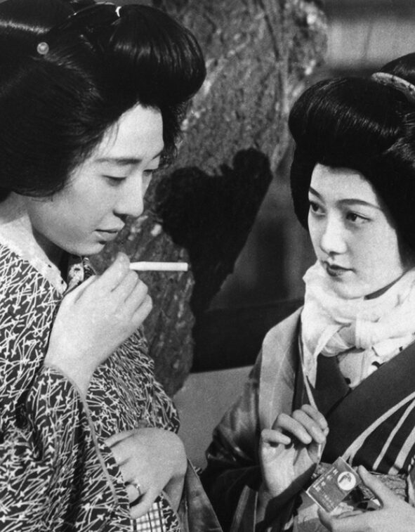 still from Apart From You (Mikio Naruse, JP 1933)
