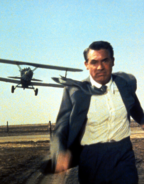 still from North by Northwest (Alfred Hitchcock, US 1959)