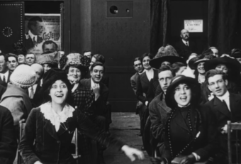 Still from The Picture Idol (1912), James Young.