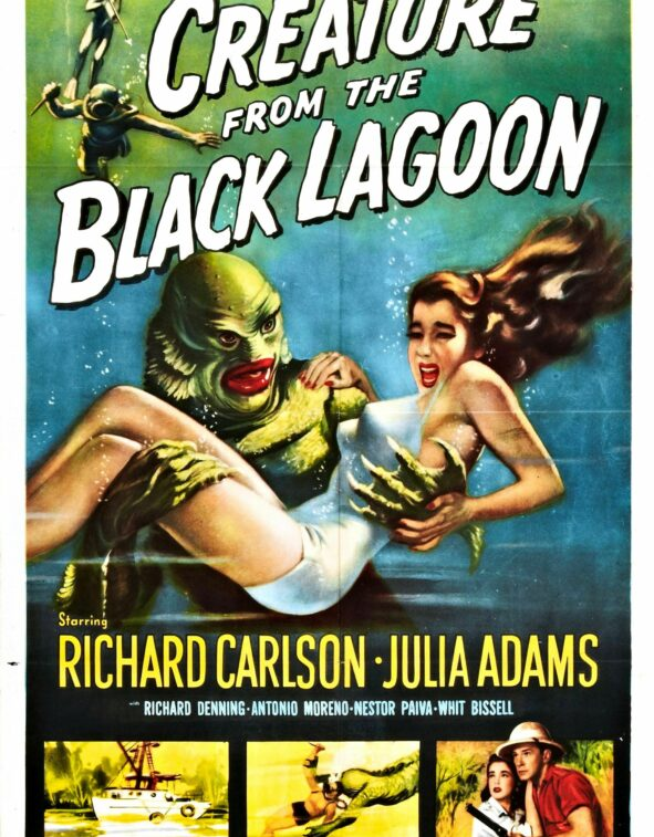 poster Creature from the Black Lagoon (Jack Arnold, US 1954)