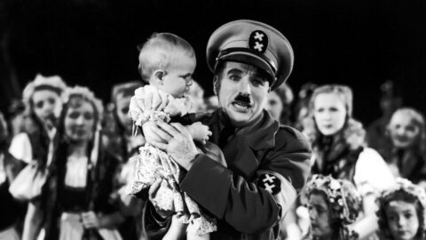 still uit The Great Dictator (Charles Chaplin, US 1940)