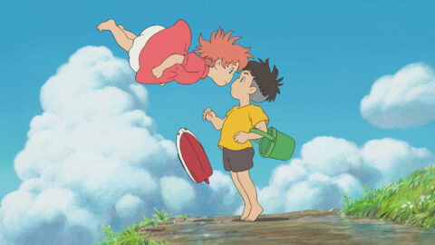 Still Ponyo on a Cliff by the Sea 1