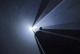 campagnebeeld Anthony McCall – Solid Light Films and Other Works (1971-2014)
