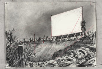 William Kentridge, 10 Drawings for Projection, Other Faces (2011)