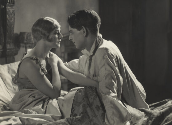 still from Easy Virtue (Alfred Hitchcock, GB 1928)