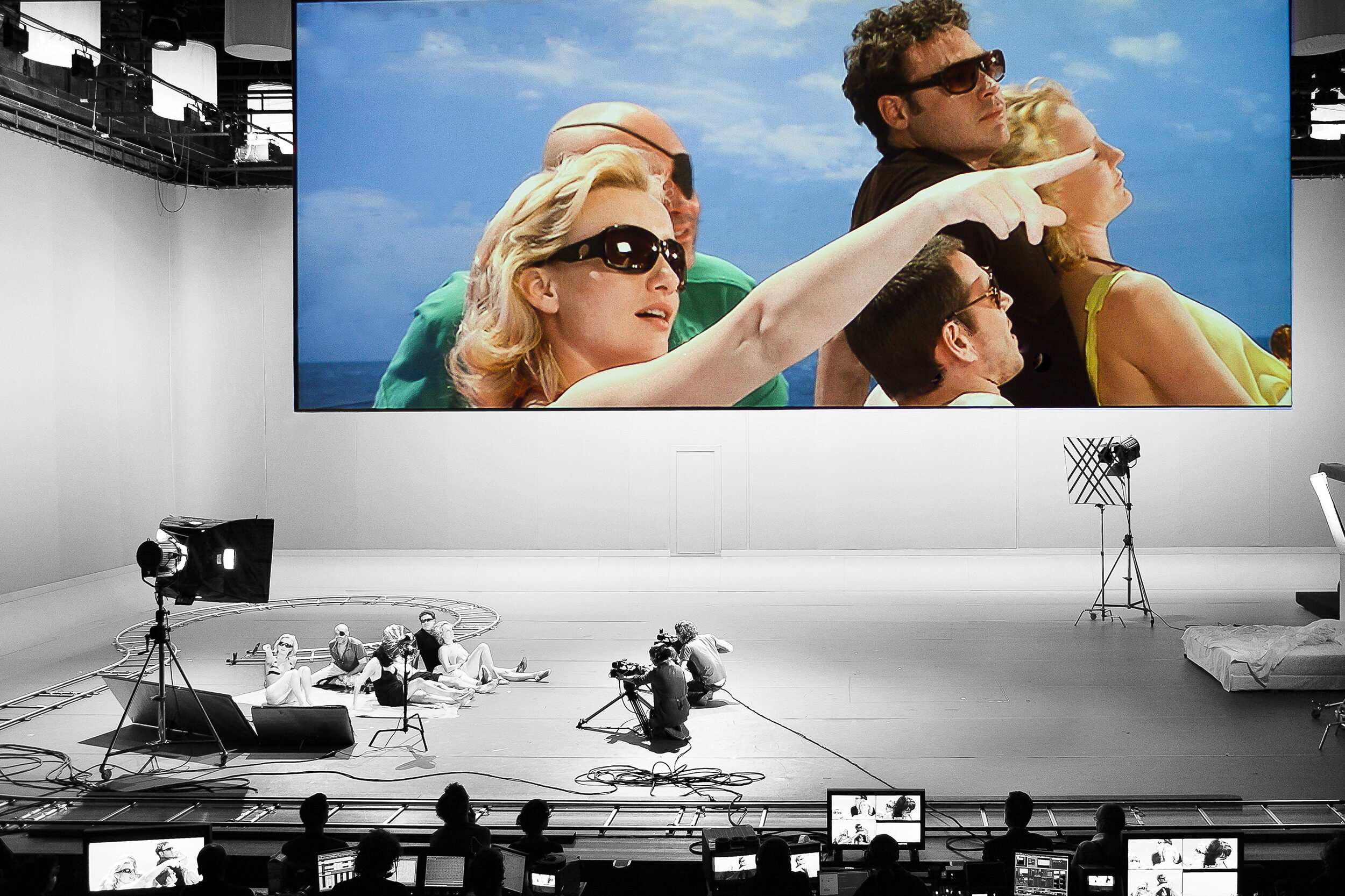 All About Theatre About Film: Antonioni Project (after Michelangelo Antonioni) (2009) © Jan Versweyveld